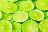 Limonkowe tło
