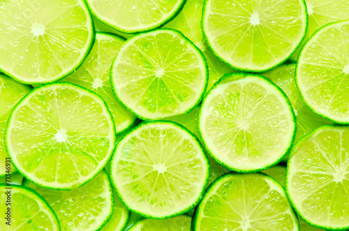 Fotografie, Obraz  Lime Background