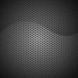 Abstract black texture background carbon vector