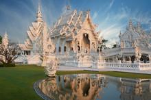 Wat Rong Khun In Morning Light...