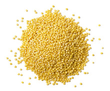 Heap Of Millet Seeds