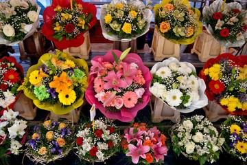 Grad Nica - Cvijeće na uličnoj tržnici