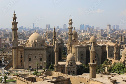 Mosque-Madrassa of Sultan Hassan. Cairo. Egipt