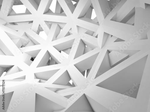 fototapeta na lodówkę Streszczenie 3d tle z chaotycznej budowie