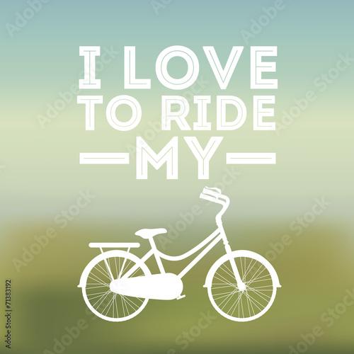 Fototapety, obrazy: Bike design