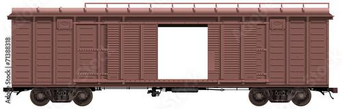 Fotografie, Obraz  the freight-car