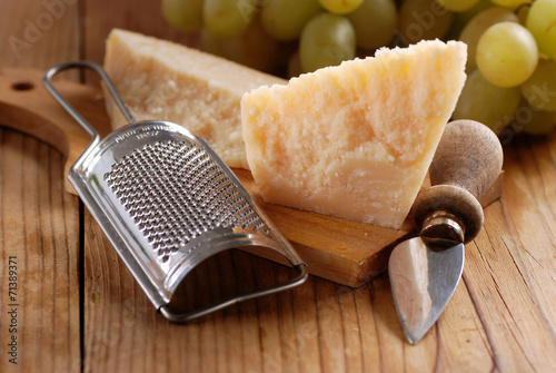 Fotografie, Obraz  parmigiano con grattugia