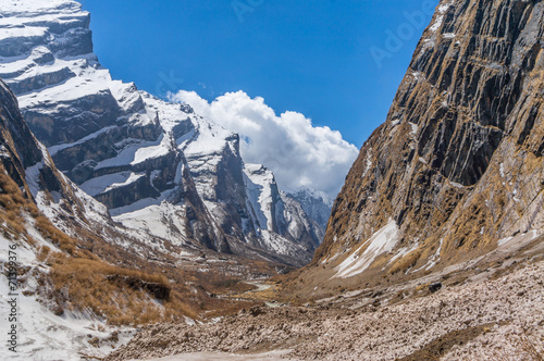 Wall Murals Nepal The ice cliff