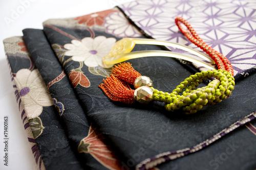 Fotografie, Tablou  着物の帯と組紐