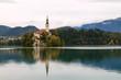 Amazing castle Bled lake
