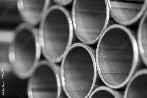 Fotografia  abstract background  of metal pipe
