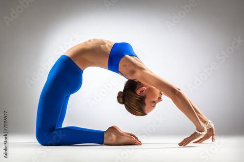 Stampa su Tela  yoga