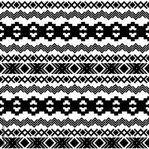 czarno-bialy-aztecki-wzor
