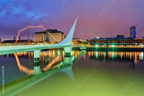 Spoed Fotobehang Buenos Aires Puerto Madero