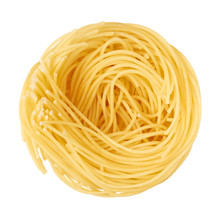 Pasta Isolated On A White Back...