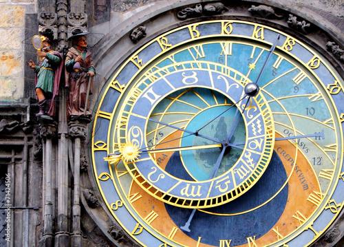 Fotobehang Praag Prague Astronomical Clock (Orloj) in the Old Town of Prague