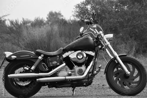 Canvas Print Motorrad - Chopper
