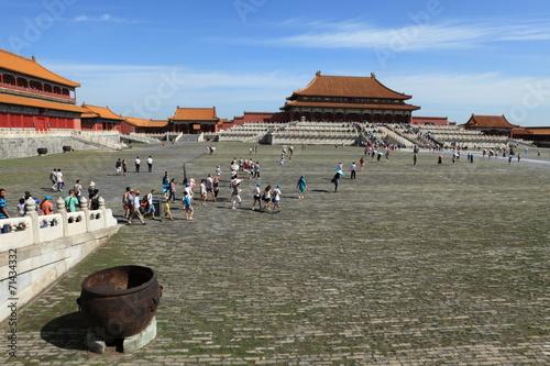Foto op Canvas Beijing Die Verbotene Stadt in Peking