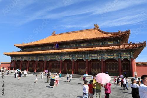 Canvas Prints Seoul Die Verbotene Stadt in Peking