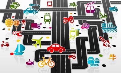 Fototapeta Transport infrastructure