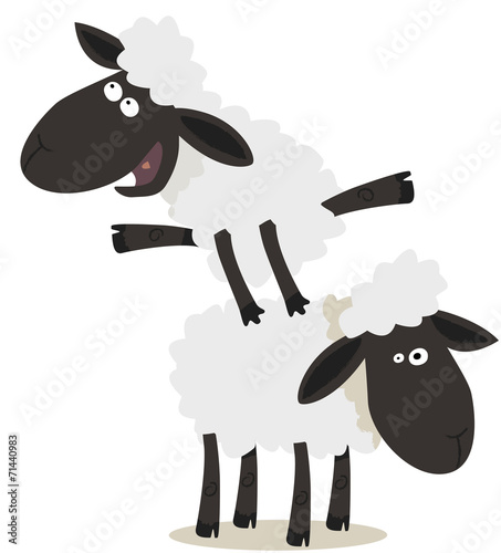 Saute Mouton Buy This Stock Vector And Explore Similar