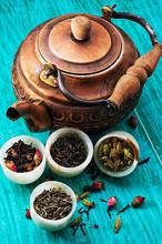 Varieties Of Dry,fragrant Tea ...