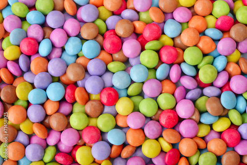 Poster Confiserie Multicolor candies