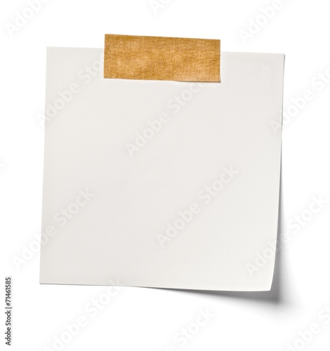 white note paper office business Wall mural