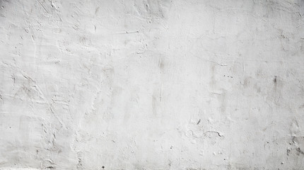 Fototapeta White concrete wall background texture with plaster