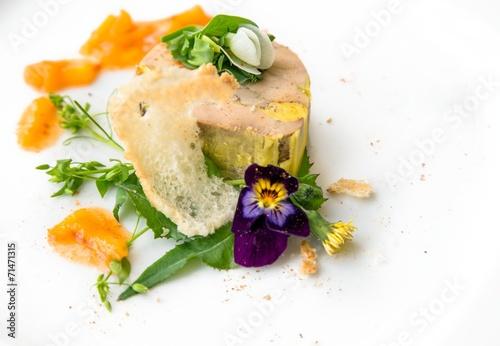 Delicious gourmet food Canvas Print