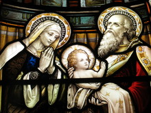 Mary, Joseph And The Christ Child