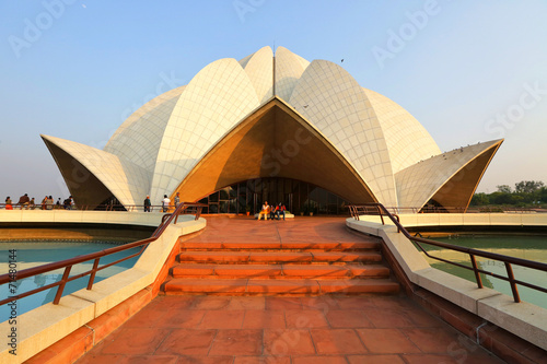 Cadres-photo bureau Delhi Lotus Temple, New Delhi