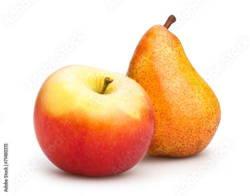 Fototapeta apple and pear obraz