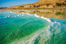 Landscape With Dead Sea Coastl...