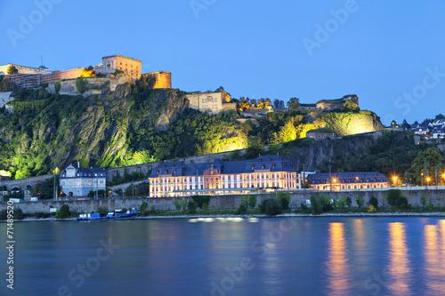 Foto  Fortress Ehrenbreitstein in Koblenz