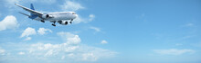 Jet In A Blue Sky