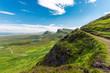 Open landscape on the Isle of Skye in Scotland