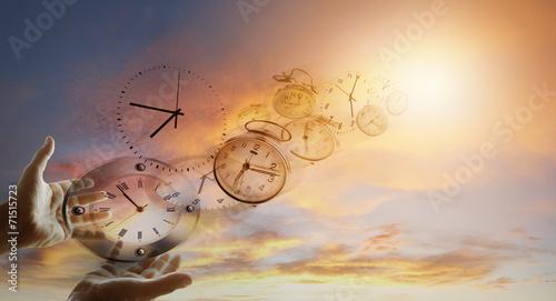 Obraz Time flies - fototapety do salonu