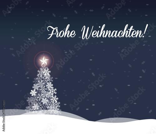 Foto-Doppelrollo - Weihnachtliche Grüße (von timmhartmann)