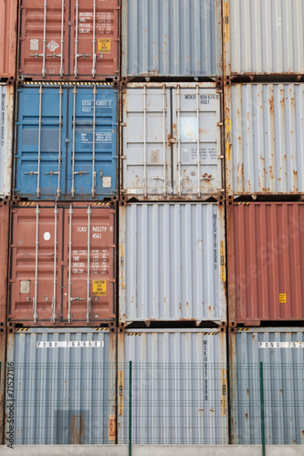 Photo  Protection des container