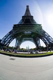 Fototapeta Fototapety Paryż - pod wieżą