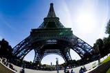 Fototapeta Wieża Eiffla - wieżą Eiffla