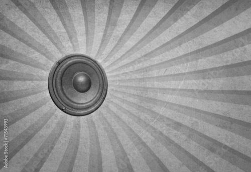 Fototapety, obrazy: audio speaker background