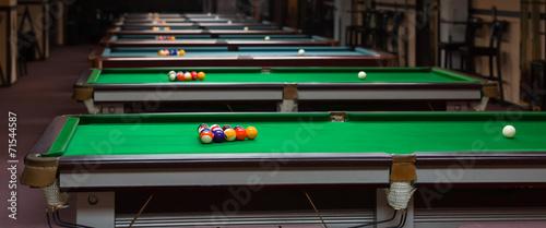 Fotografie, Tablou  Billiard Balls