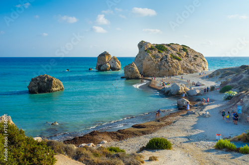 Staande foto Cyprus The legendary beach