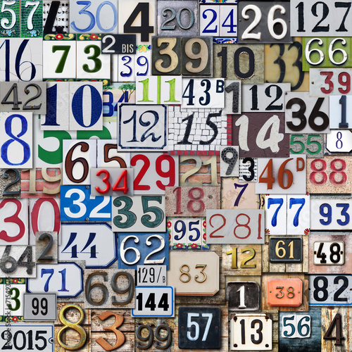Fotografía  numeri in caos