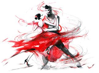 Fototapeta tango