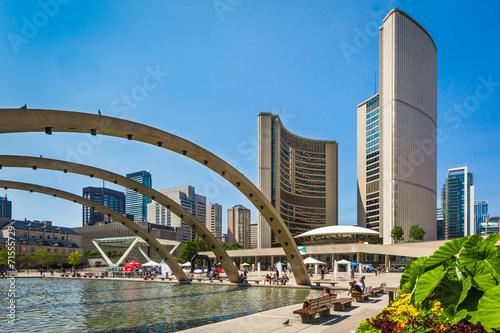 Deurstickers Toronto Toronto City Hall