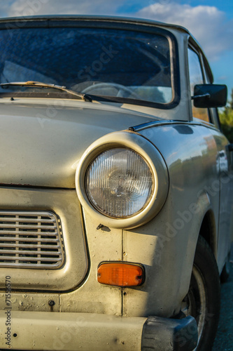 Trabant 601 DDR Canvas Print