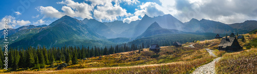 Hala Gasienicowa in Tatra Mountains - panorama #71556752